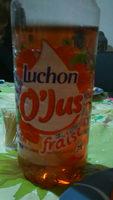 Luchon Boisson O'Jus fraise la bouteille de 1,5 l - Product
