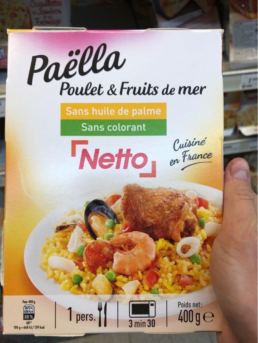 Paëlla - Produit