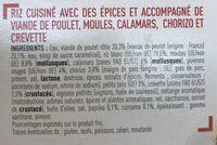 Paëlla - Ingredients