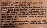Fondant au Chocolat - Ingredients