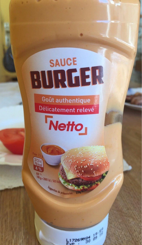 Sauce burger - Product