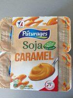 soja caramel dessert végétal - Produit - fr