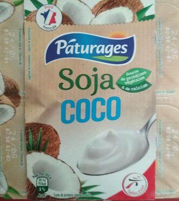 Soja cocospécialité végétale - Produit - fr