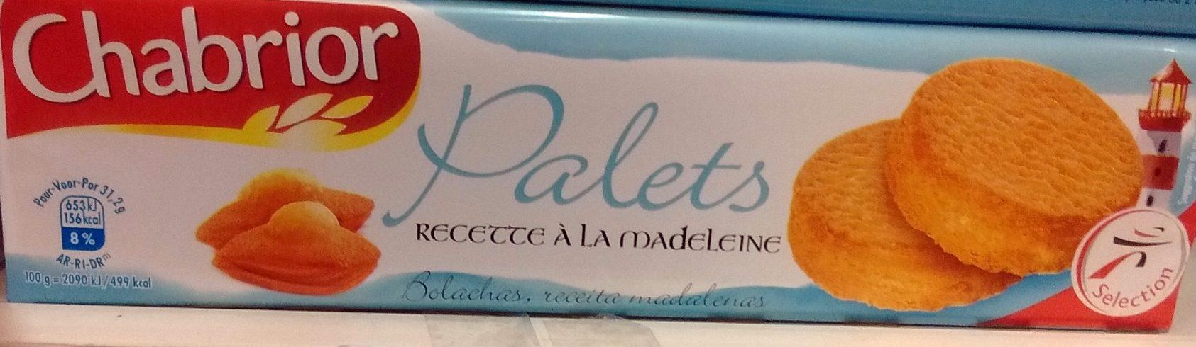 Palets Recette à la Madeleine - Product - fr