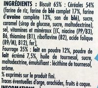 Céréales Crica Lait - Ingredients