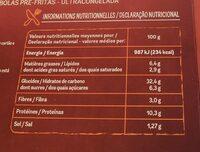 PIZZA Fiorini La maxi barbecue - Informations nutritionnelles - fr