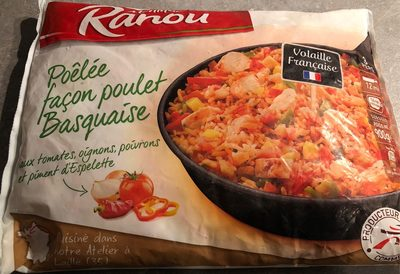 Poêlée façon poulet Basquaise - Produit - fr