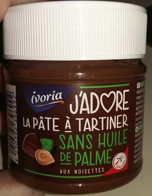 J'adore la pâte à tartiner sans huile de palme - Produit