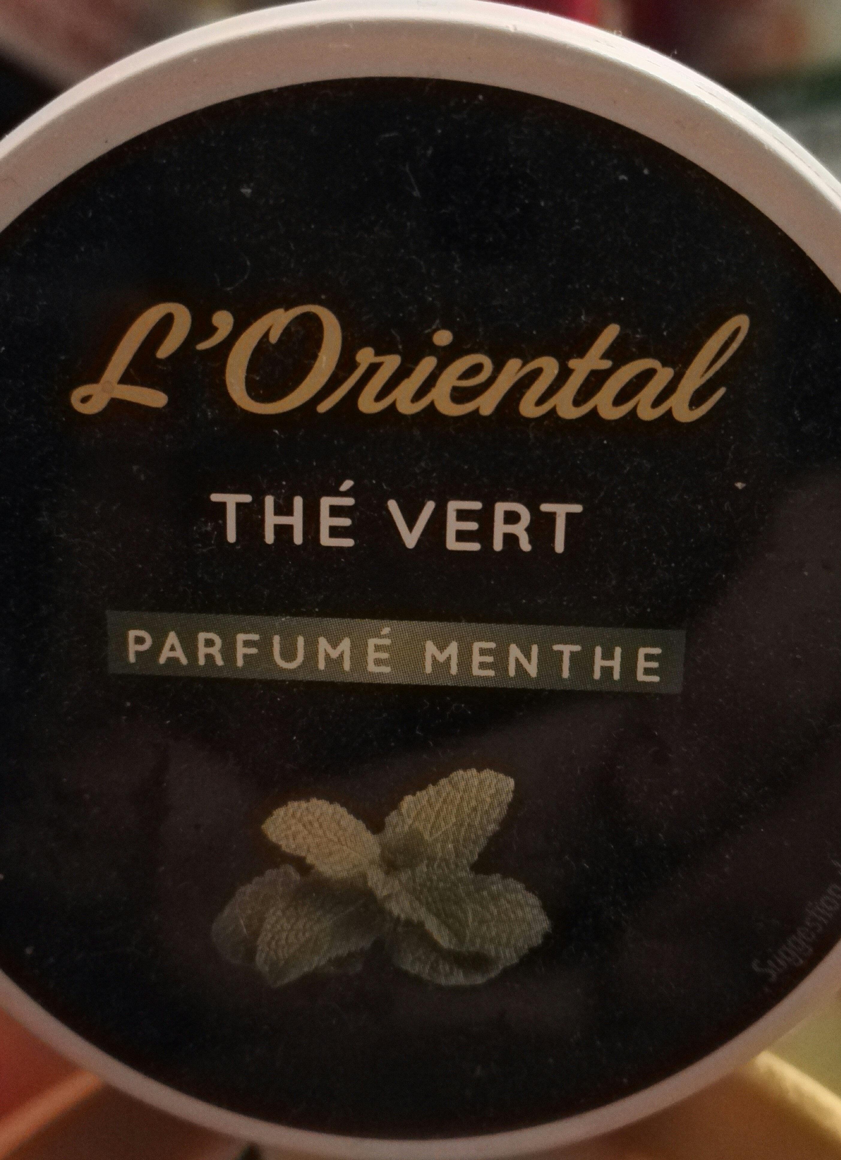 Thé Vert parfumé Menthe - Voedingswaarden - fr