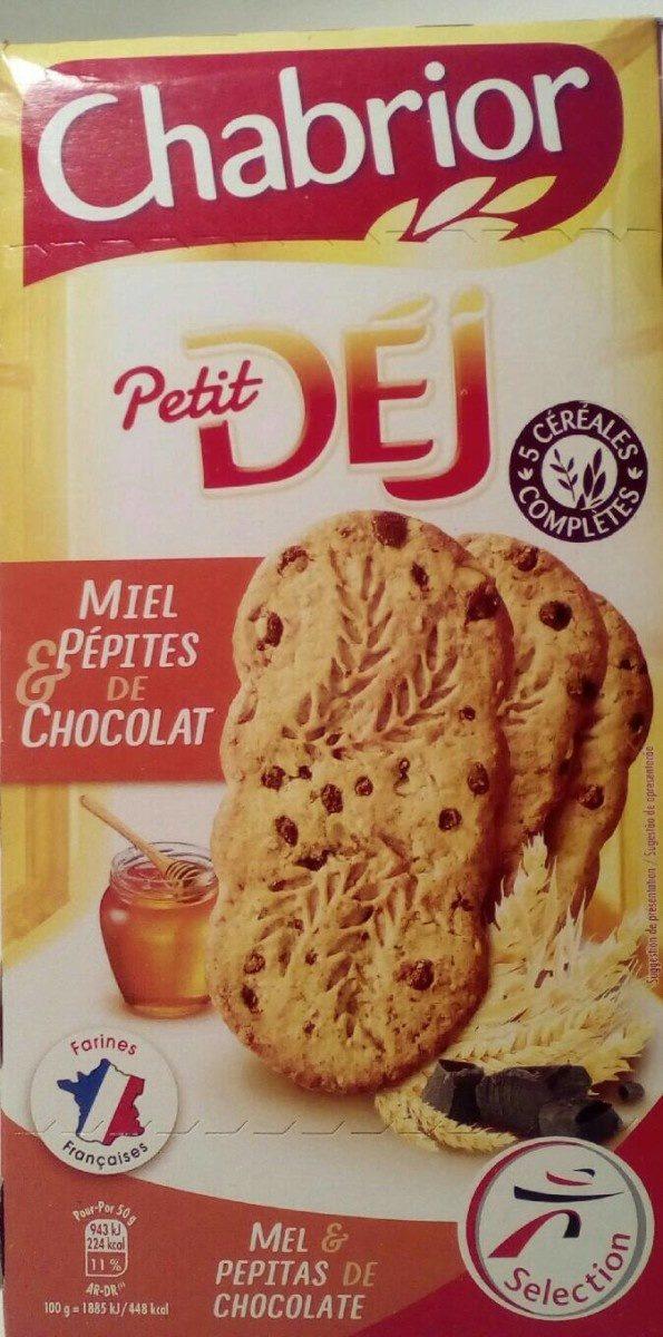 Miel pépites de chocolats Petit Dèj - Produit - fr