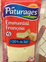 Emmental français réduit en sel - Produit - fr