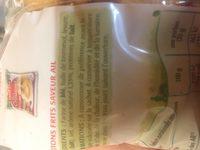 Croûtons frits nature - Ingredients