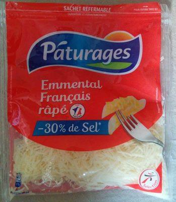 Emmental français râpé -30% de sel - Product