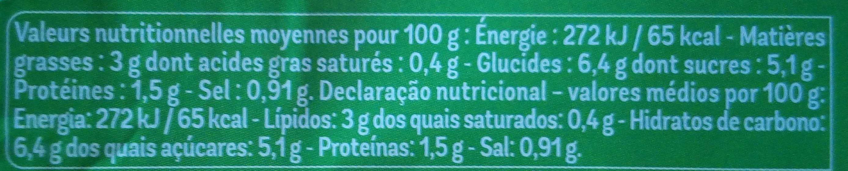 Arrabiata - Informations nutritionnelles - fr