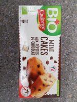 Mini cakes aux pépites de chocolat BIO le paquet de 150 g - Produit - fr
