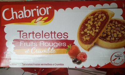 Tartelettes fruits rouges et Crumble le paquet de 125 g - Product - fr