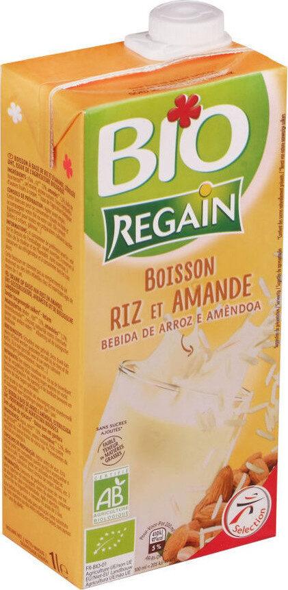 Boisson saveur amande bio - Produit - fr