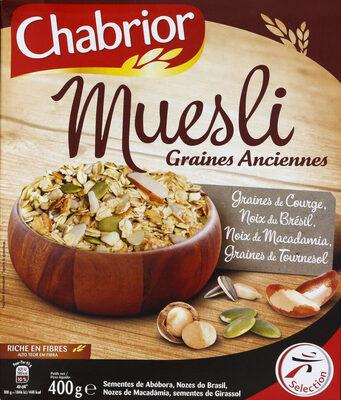 Muesli graines anciennes - Produto - fr