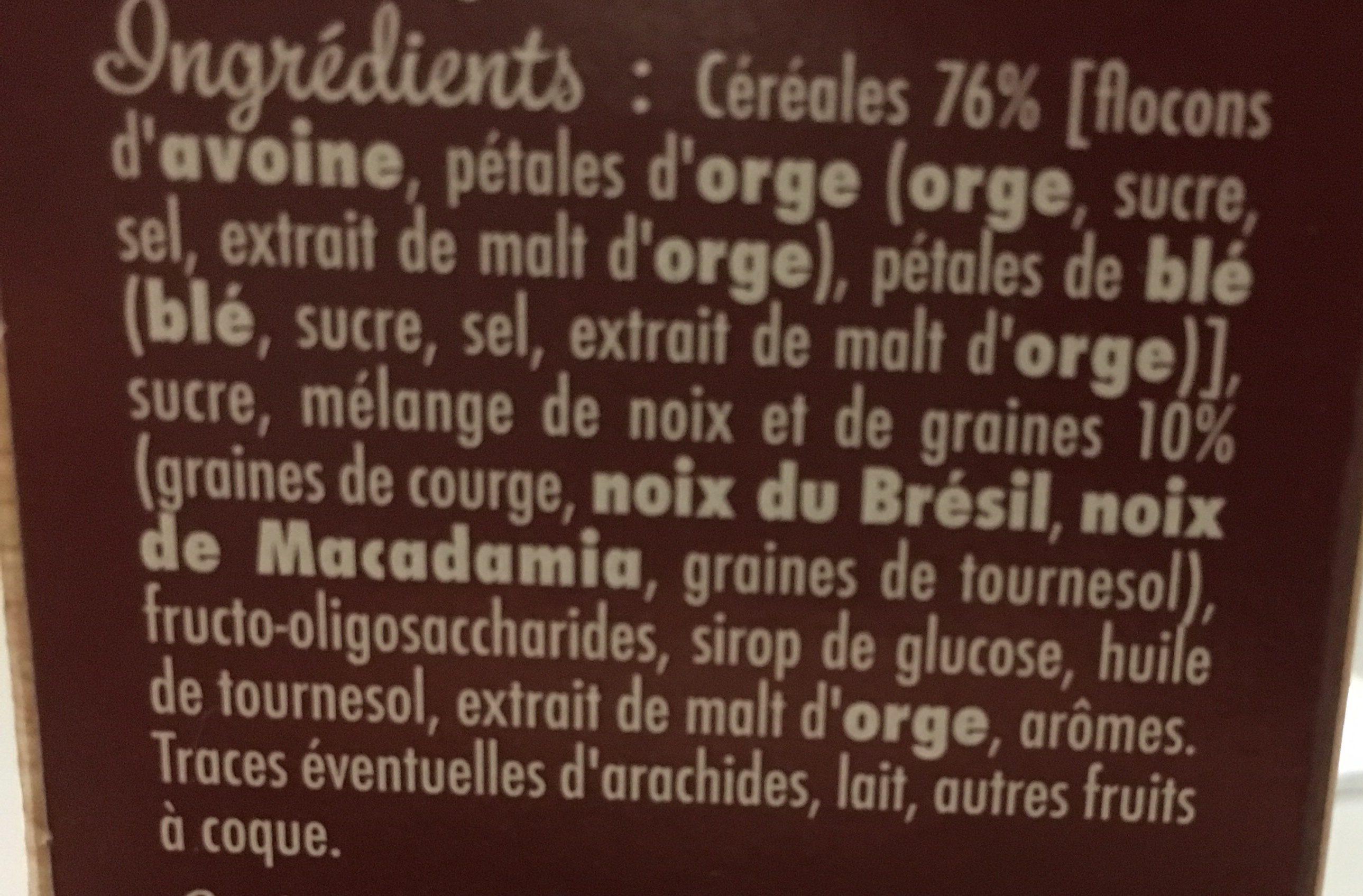 Muesli Graines Anciennes - Ingrédients - fr