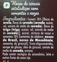 Muesli Graines Anciennes - Ingredientes - pt