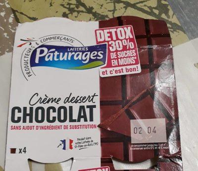 Detox -30% crème dessert chocolat - Product