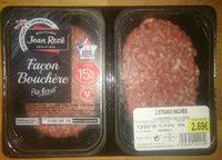 Steaks Hachés Façon Bouchère Pur Bœuf 15% MG - Product