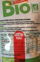 Flocons d'avoine complète bio - Informations nutritionnelles - fr