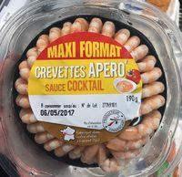 Crevettes apéro sauce cocktail (maxi format) - Product