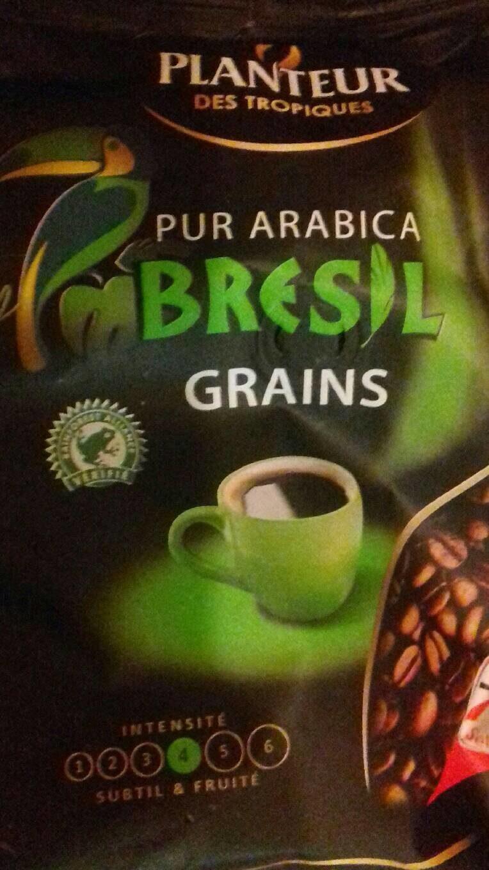 Pur arabica Brésil grains - Product - fr