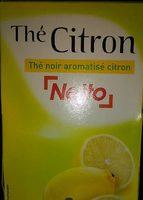 Thé noir aromatisé citron - Product - fr