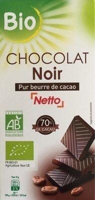 Chocolat Noir 70% cacao - Produit - fr
