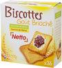 Biscottes goût brioché - Product