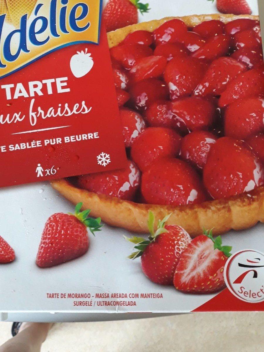 Tarte aux fraises - Produit - fr