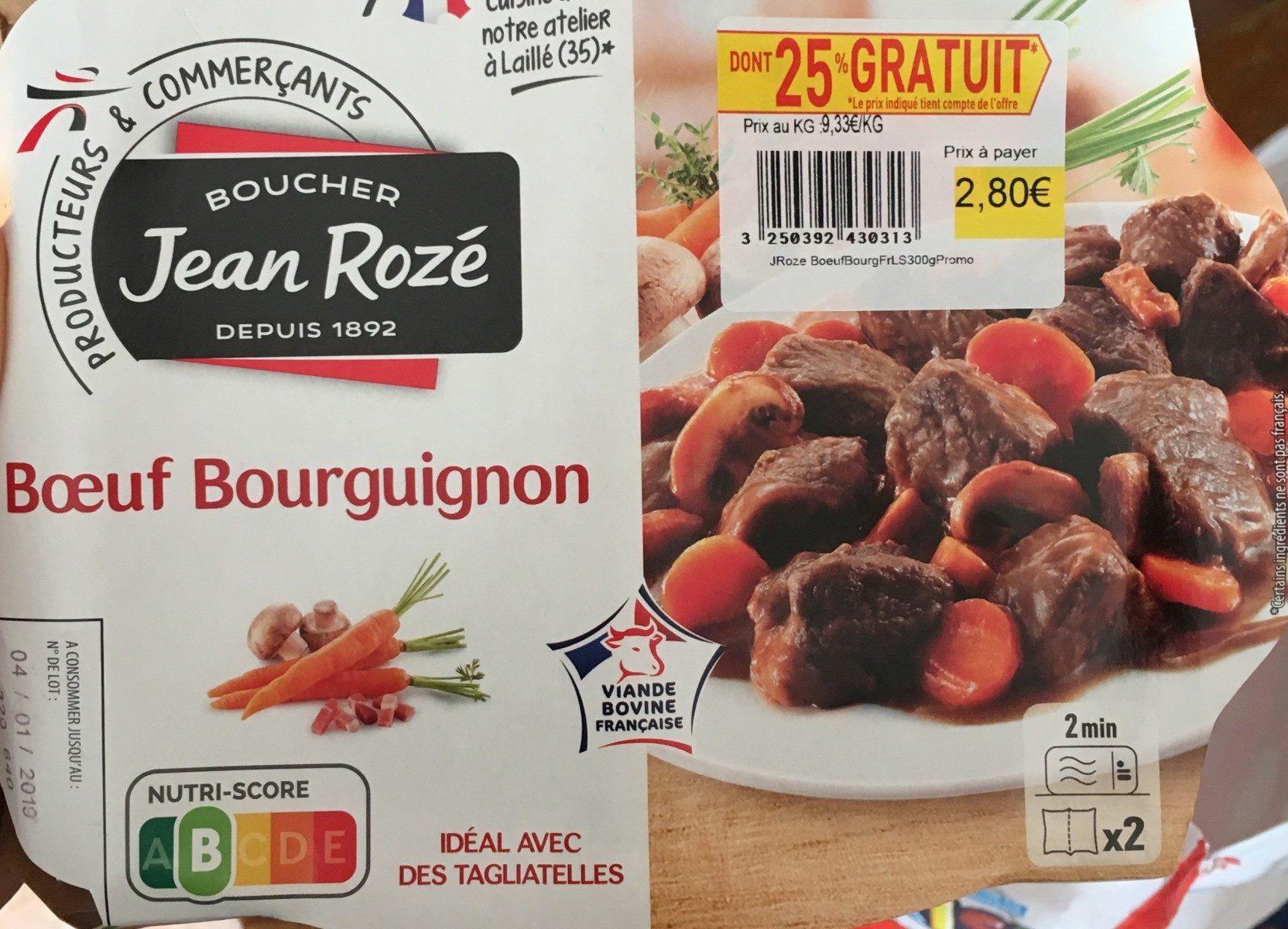 Boeuf bourguignon - Product