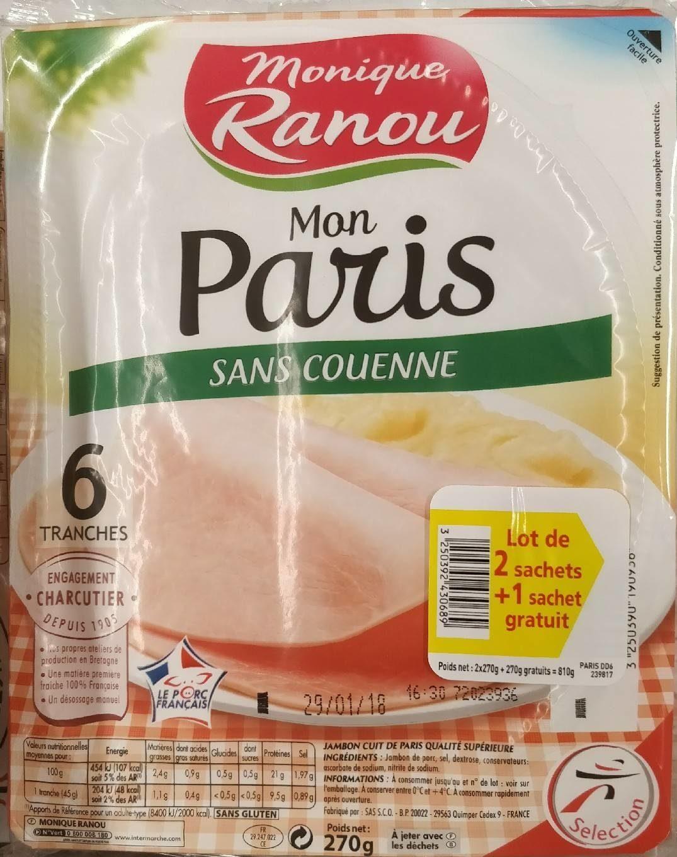 Mon Paris sans couenne - Product - fr