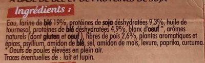 Nuggets soja et blé - Ingrédients - fr