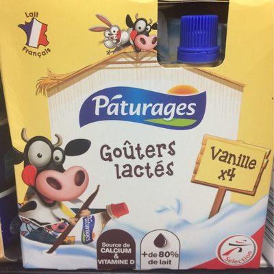 Goûters lactés saveur vanille - Produit