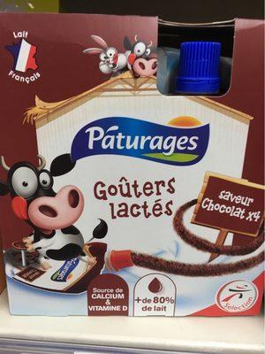 Goûters lactés saveur chocolat - Produit - fr