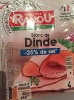 Blanc de dinde - Produit - fr