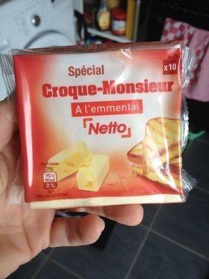 Fromage pour Croque monsieur - Produit - fr