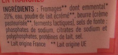 Fromage pour Croque monsieur - Ingrédients - fr