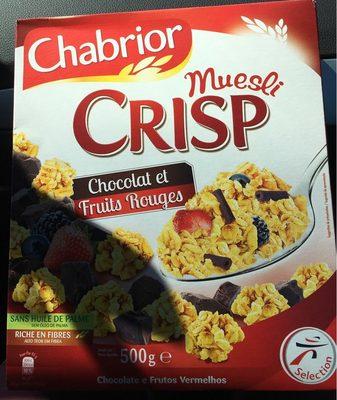 Muesli Crisp chocolat et fruits rouges - Product