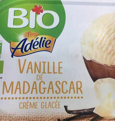 Adélie Crème glacée vanille de Madagascar BIO le bac de 900 - Produit - fr