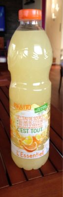Citronnade Citron & Orange - Nährwertangaben - fr