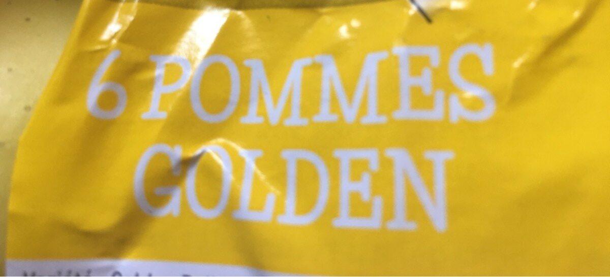 6 pommes golden - Ingrediënten - fr