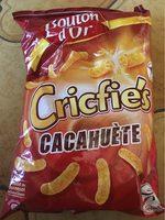 Cricfie's cacahuète - Produit