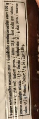Rocher chocolat - Ingredients - fr