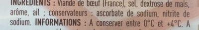 Rôti de boeuf - Ingredients - fr