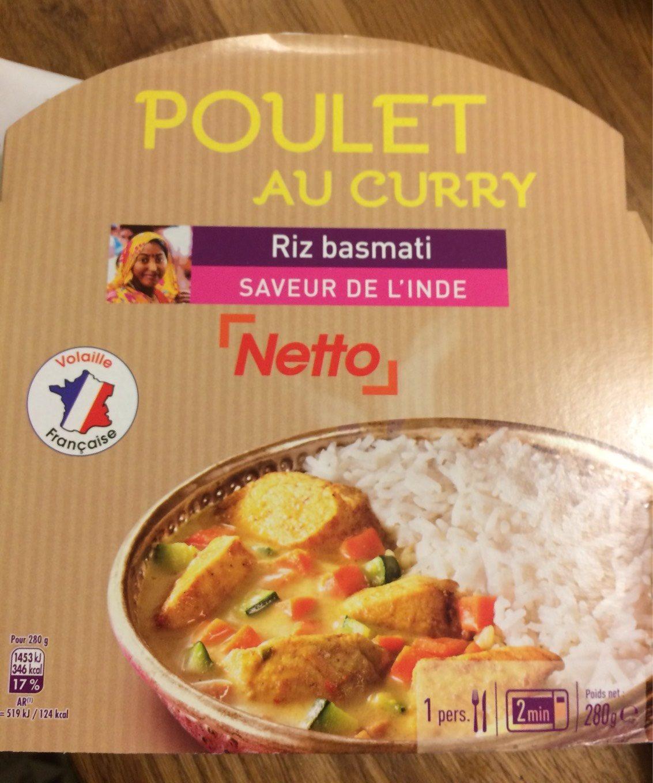Poulet au curry Riz basmati - Produit - fr