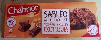 Sableo au chocolar coeur fruits exotiques - Product - fr